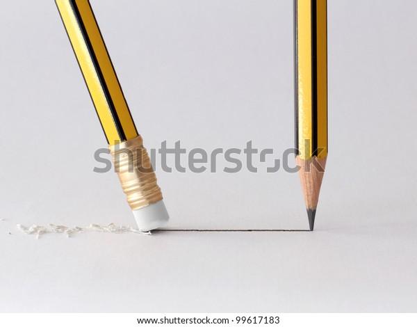 write and erase