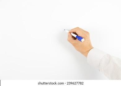 Write on the whiteboard