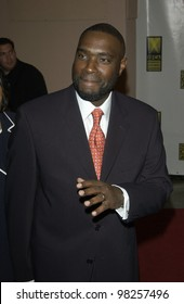 Writer ANTWONE FISHER at the Broadcast Film Critics 8th Annual Critics' Choice Awards at the Beverly Hills Hotel. 17JAN2003.   Paul Smith / Featureflash