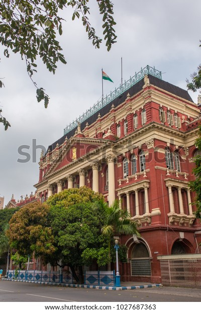Writers Building Dalhousie Area Kolkata West Buildings Landmarks Stock Image 1027687363