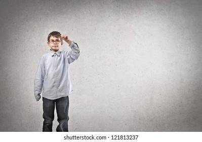 Writing child