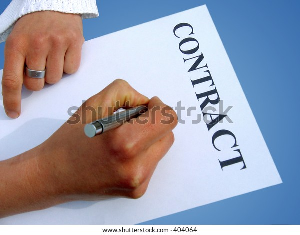 writing a contract