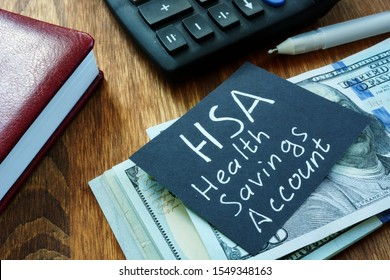 Writing note shows the text HSA Health savings account