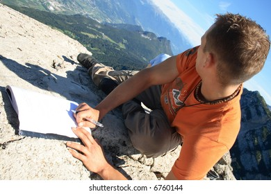 Writing in the summit book