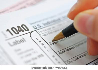 writing tax return