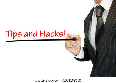 """""""Tips and Hacks"""" written by a young business"""