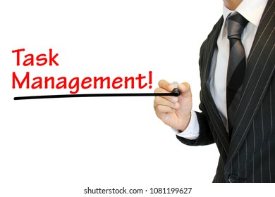 """""""Task Management"""" written by a young businessman"""