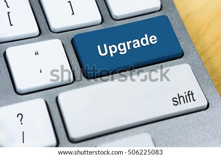 upgrade keyboard button