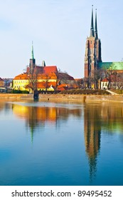 Wroclaw old city, Cathedral Island