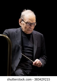 """Wroclaw, Poland. 23th February, 2016. Concert Ennio Morricone """"The 60 Years of Music Tour"""". This concert is a part of European Capitol of Culture Wroclaw 2016."""
