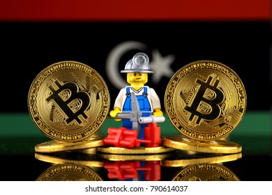 Libyan currency images stock photos vectors shutterstock wroclaw poland january 07 2018 physical version of bitcoin miner ccuart Choice Image