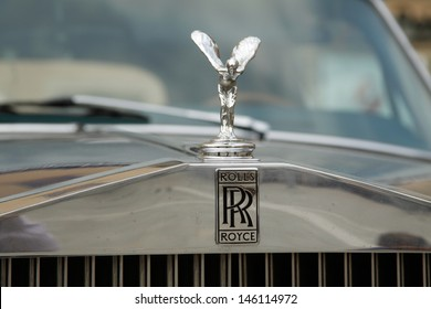 WROCLAW, POLAND - JULY 14: 5th International Rally of Rolls Royce and Bentley on July 14, 2012 in Wroclaw, Poland