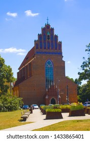 WROCLAW, POLAND - June 18, 2019: Church of the Body of Christ in Wroclaw