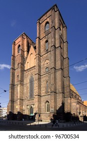 WROCLAW, POLAND - MAY 10: St. Mary Magdalene Church in Wroclaw, Poland. May 10, 2011  Wroclaw is host city Uefa Euro 2012 and European Capital of Culture 2016