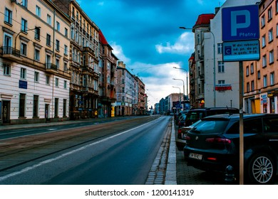 Wroclaw, Poland, September 10, 2017: the streets of the old town in the early morning