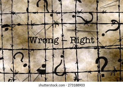 Wrong - right concept