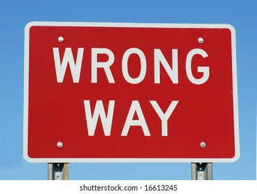 wrong way sign images stock photos vectors shutterstock