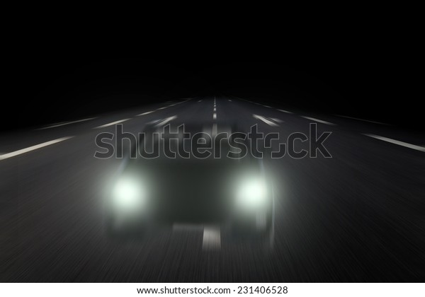 wrong-way driver on highway
