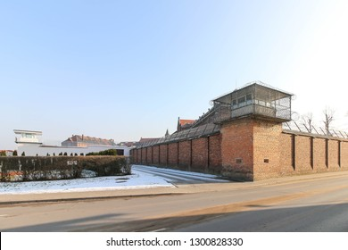 Wronki Prison, the largest prison in Poland