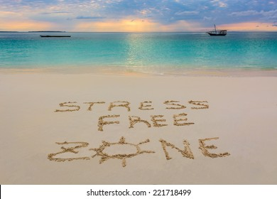 i wrote this message in Nungwi beach in Zanzibar,Tanzania.This is paradice for no Stress!