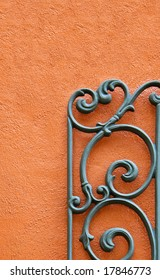wrought-iron-against-stucco-wall-260nw-1