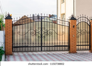 Driveway Gate Images, Stock Photos & Vectors | Shutterstock