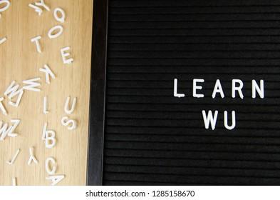 WU, Chinese language