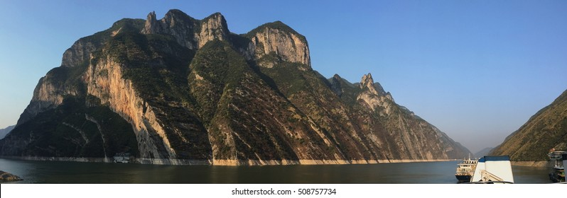Wu Gorge on the Yangrtze River in China