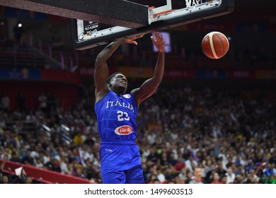 Wuhan (Cina), Italy, September 08 2019 AWDU ABASS  during China Basketball World Cup 2019 - Porto Rico Vs Italy  Italy Basketball National Team