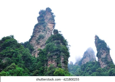 Wulingyuan in south-central China's Hunan Province, UNESCO World Heritage Site.
