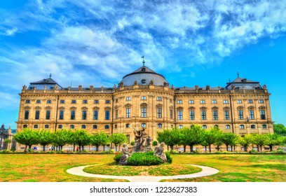The Wurzburg Residence, UNESCO world heritage in Bavaria, Germany