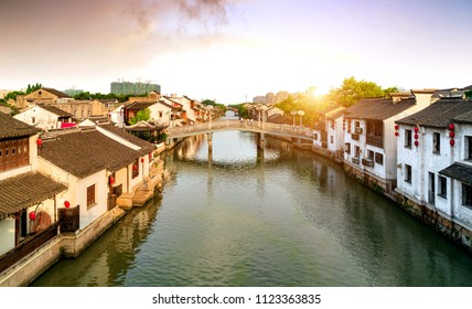 Wuxi, a famous water town in China