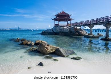 WuZizhou island,sanya, hainan province, China