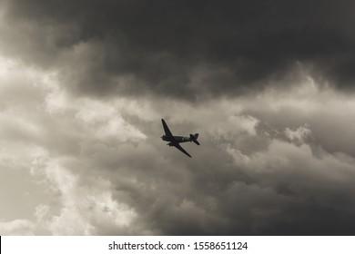 WW2 Airplane at Biggin Hill Air Show