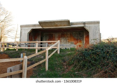 A ww2 bunker, part of the coastal invasion defenses on the Dorset (UK) coastline. Reputed to have housed a 6 pound gun.
