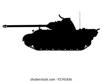 WW2 Series - German Panzer VPan Tank