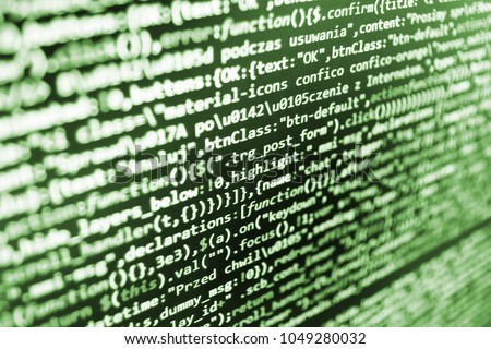 WWW Software Development Implementing SEO Concepts Stock