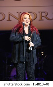 Wynonna Judd at the 7th Annual ACM Honors, Ryman Auditorium, Nashville, TN 09-10-13