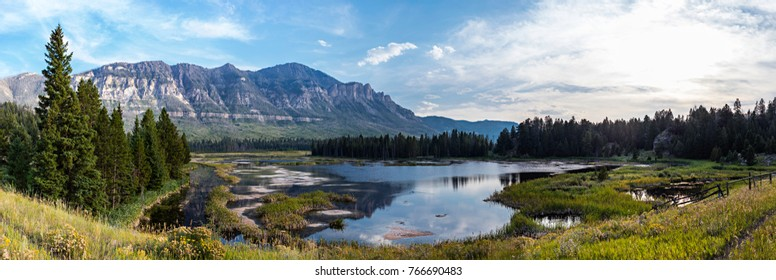 Wyoming landscape (Park County, Wyoming, United States).