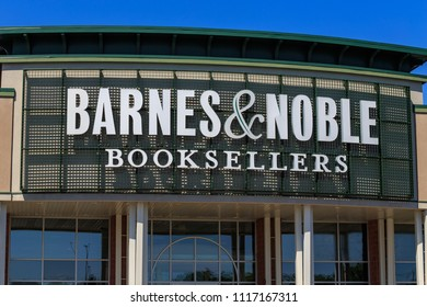Wyomissing, PA, USA - June 14, 2018: Barnes & Noble is a large bookseller with over 630 retail stores in all 50 U.S. states.