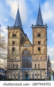 Xanten Cathedral, sometimes called St. Victor's Cathedral is a Roman Catholic church situated in Xanten, North Rhine-Westphalia, Germany
