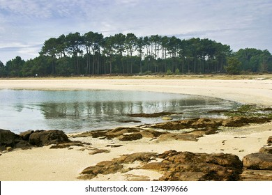 Xastelas beach on Arousa Island
