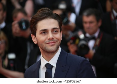 Xavier Dolan attends the Closing Ceremony of the 69th annual Cannes Film Festival at the Palais des Festivals on May 22, 2016 in Cannes, France.