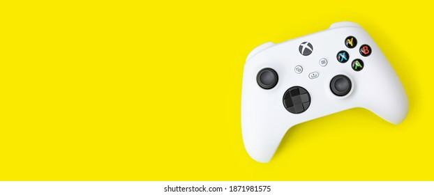 Xbox Series S game controller - 11 Dec, 2020 - Sao Paulo, Brazil