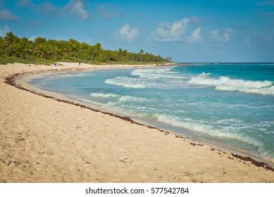 Xcacel beach, Playa del Carmen, Mexico