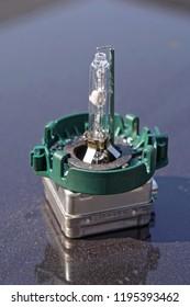 Xenon filament spare bulb for car headlights