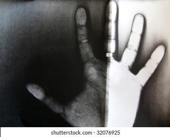 Xerox of the human hand