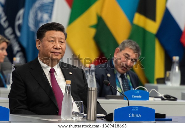 Xi Jinping, president of China is seen during the G20 meeting. November 30, 2018. Capital Federal, Buenos Aires, Argentina.