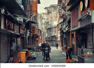 """XIAMEN, CHINA – FEB 16: Street view on February 26, 2018 in Xiamen. Xiamen was ranked as China's 2nd-""""most suitable city for living"""""""