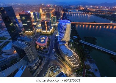 Xiamen City - Jul 16,2015:Xiamen Xinglin Bay Scenery In Xiamen City,Fujian,China